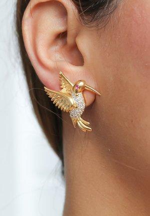 AMAZONIAN HUMMINGBIRD - Orecchini - gold