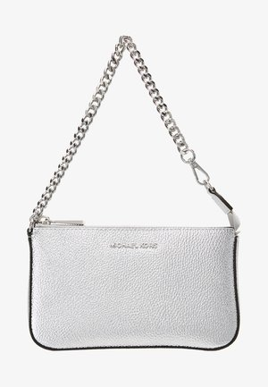 JET SET MEDIUM CHAIN POUCHETTE - Across body bag - silver
