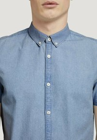 TOM TAILOR DENIM - Shirt - light indigo blue  chambray - 3