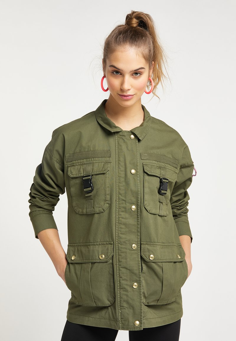 myMo - UTILITY  - Light jacket - militär grün