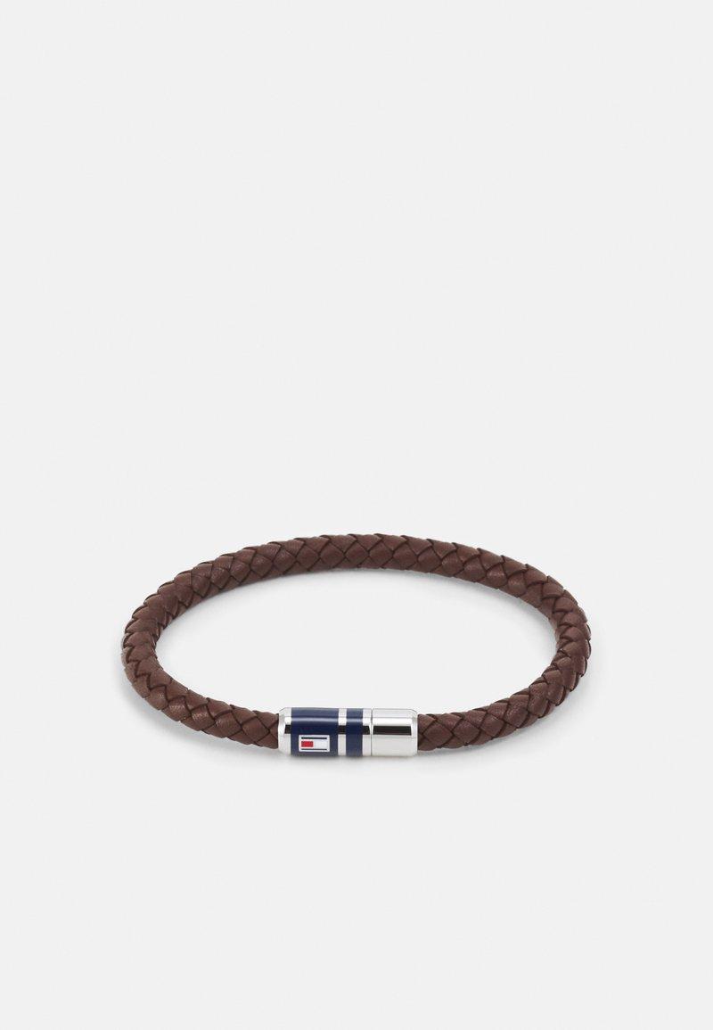 Tommy Hilfiger - BRAIDED - Bracelet - brown