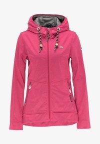 Schmuddelwedda - Outdoor jacket - dark pink - 4
