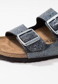 Birkenstock - ARIZONA - Slippers - cosmic sparkle anthracite - 2