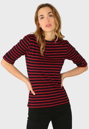 CANCALE - MARINIÈRE - T-SHIRT - Print T-shirt - rich navy braise