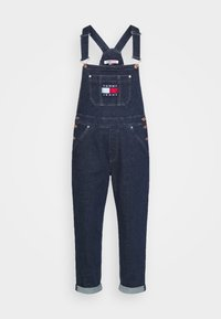 Tommy Jeans - DUNGAREE - Dungarees - oslo dark blue com - 4