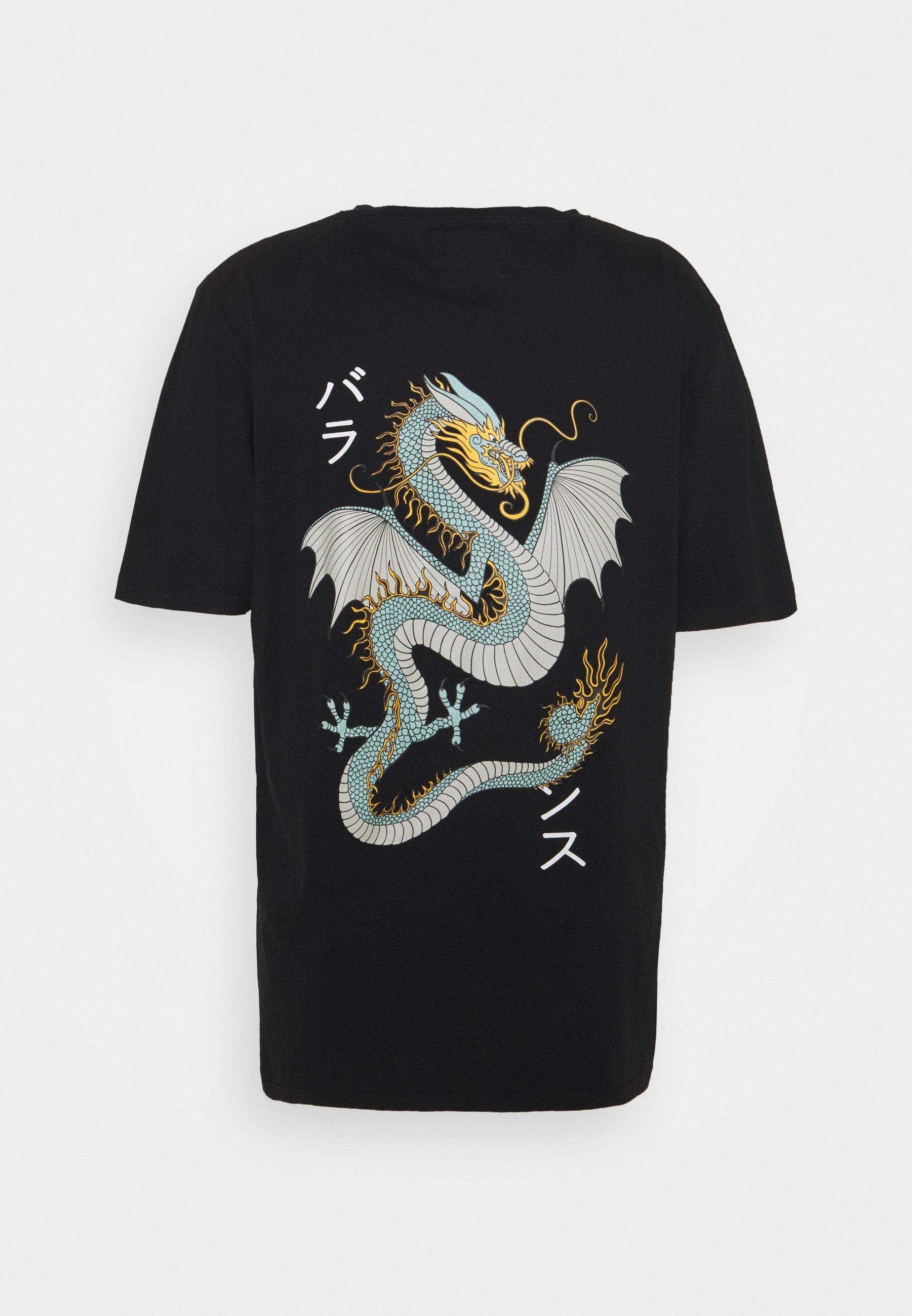 Homme DRAGON BOX TEE - T-shirt imprimé