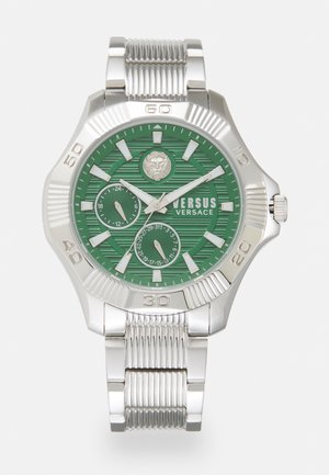 VERSUS DTLA - Reloj - silver-coloured/green