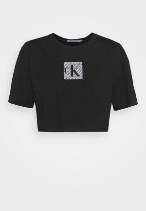 HOLOGRAM LOGO - T-shirt con stampa - black