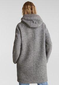 Esprit - MIT KAPUZE - Classic coat - gunmetal - 2
