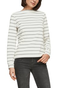 s.Oliver - Long sleeved top - off-white stripes - 3