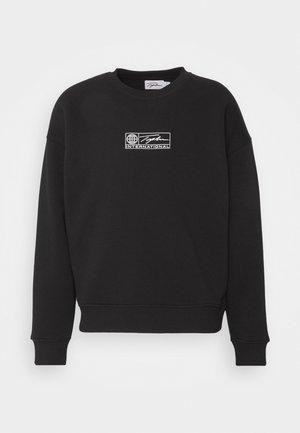 BARCODE GRAPHIC  - Sweater - black