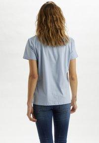 Cream - CRYARNA - T-shirt imprimé - cashmere blue - 2