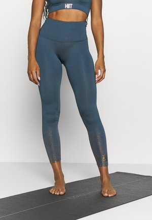 FOIL FADE PRINT LEGGING - Tights - teal