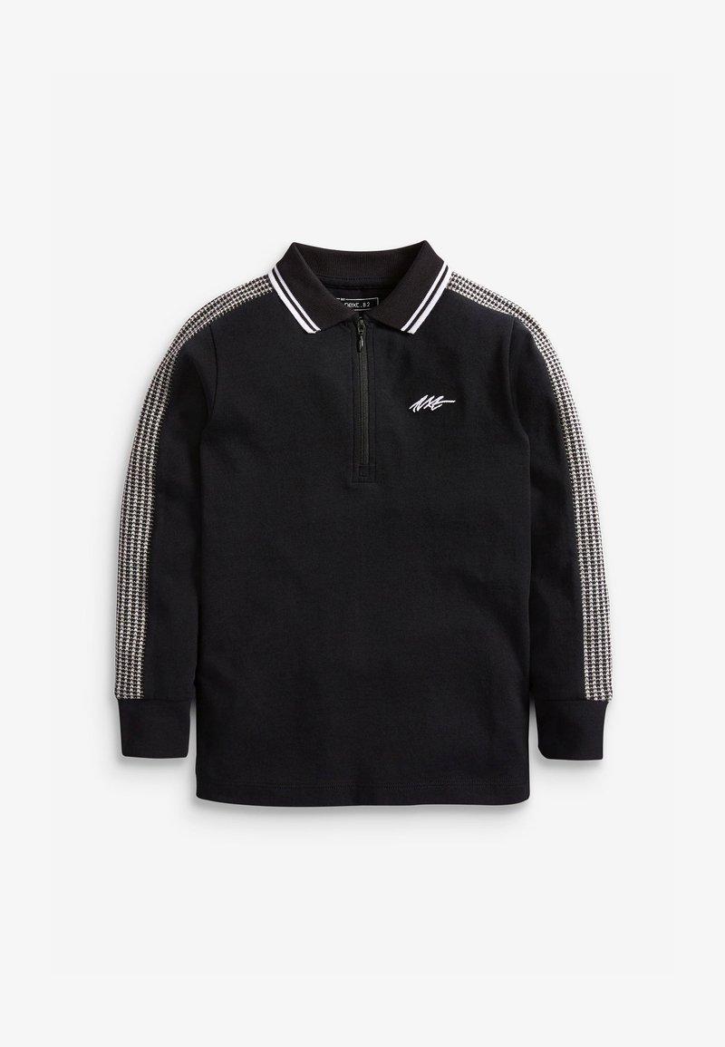 Next - LONG SLEEVE  - Polo shirt - black