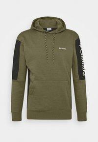Columbia - MINAM RIVERHOODIE - Hoodie - stone green/black/white - 4