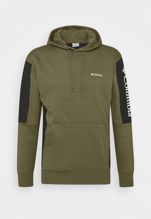 MINAM RIVERHOODIE - Bluza z kapturem - stone green/black/white