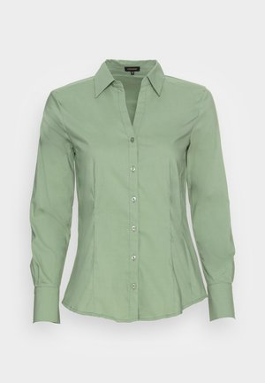 BLOUSE - Button-down blouse - reed green