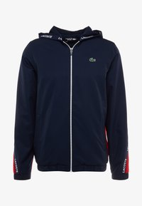 Lacoste Sport - Training jacket - navy blue/red/navy blue/white - 6