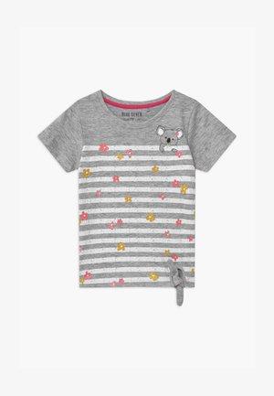 SMALL GIRLS FLOWER KOALA - Print T-shirt - nebel
