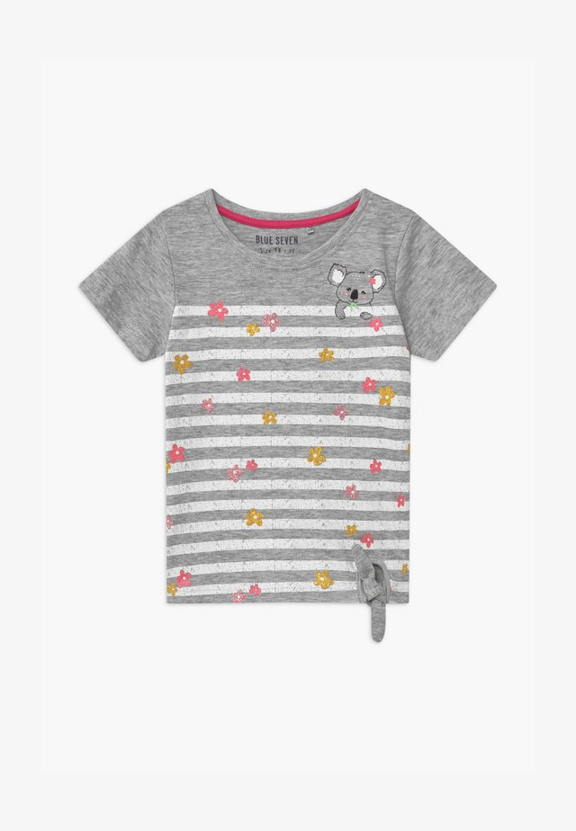 SMALL GIRLS FLOWER KOALA - T-shirt con stampa - nebel