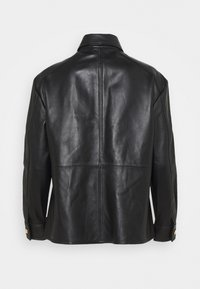 LIU JO - GIACCA CAMICIA - Leather jacket - nero - 10