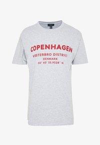 New Look - COPENHAGEN PRINT TEE - Print T-shirt - grey - 3