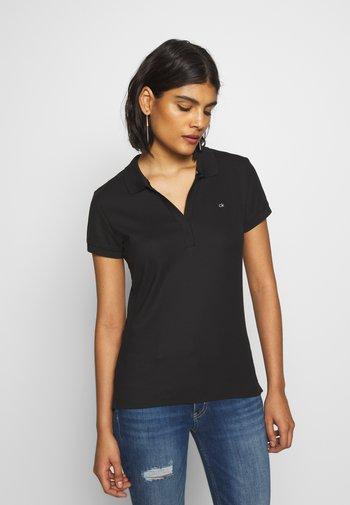 ESSENTIAL - Polo shirt - black
