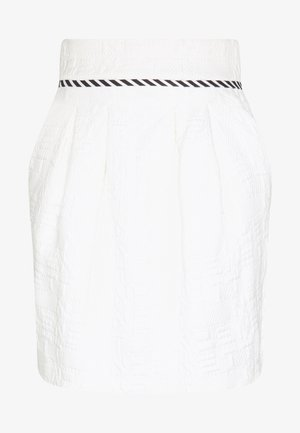 SKIRT - Mini skirt - white