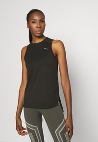 Puma - TRAIN PANEL TANK - Treningsskjorter - black - 0