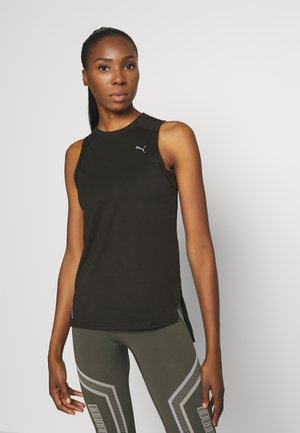 TRAIN PANEL TANK - Funktionsshirt - black