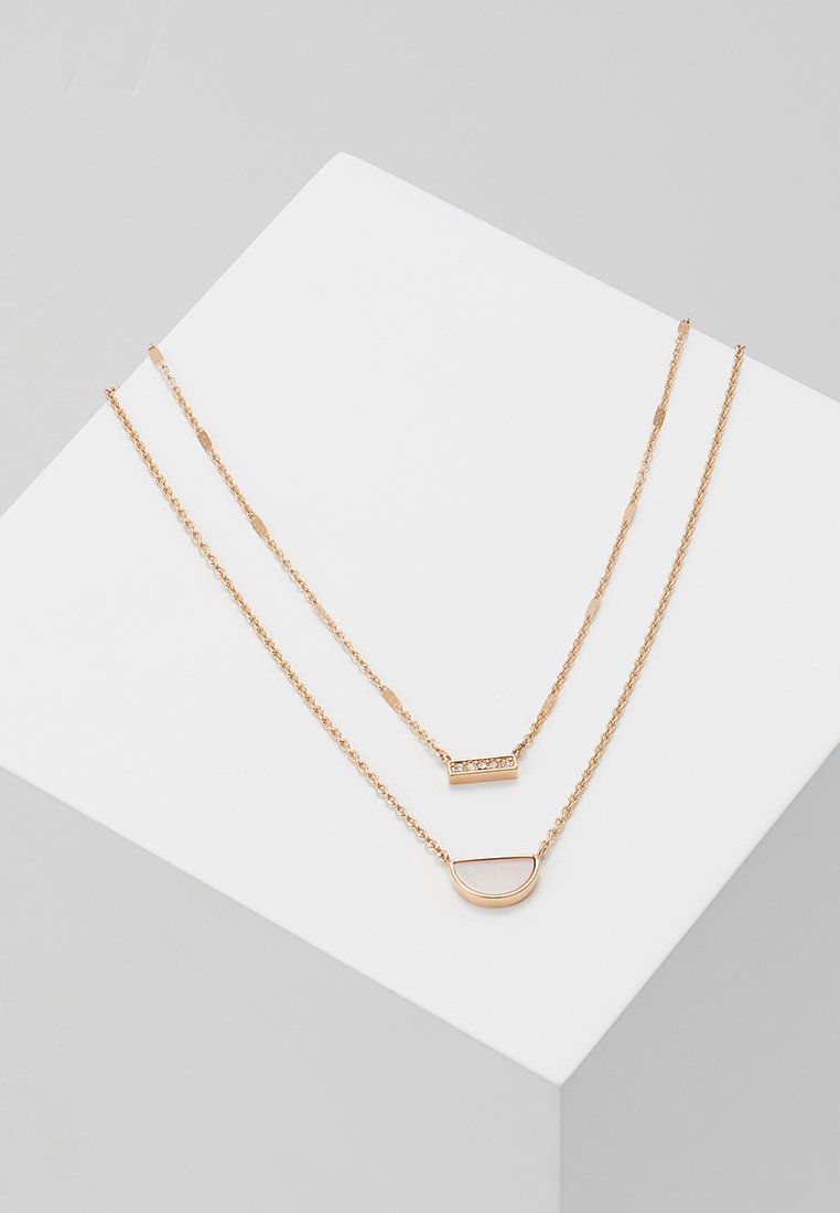 Fossil - VINTAGE ICONIC - Necklace - roségold-coloured