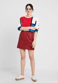 Ibana - EASY - A-line skirt - red - 1