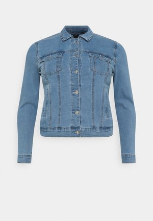 VMHOT SOYA JACKET - Giacca di jeans - light blue denim