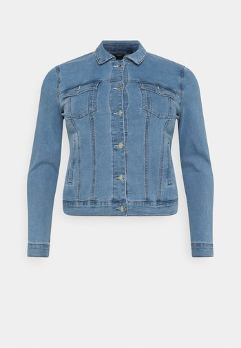 VMHOT SOYA JACKET - Denim jacket - light blue denim