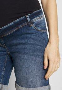 LOVE2WAIT - Denim shorts - stone wash - 3