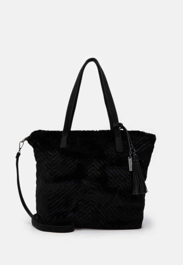 BETTINA - Tote bag - black