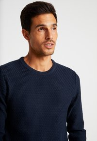 Selected Homme - SLHOLIVER  - Jumper - dark sapphire - 3