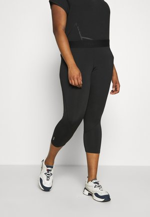 ONPGILL 3/4 TRAINING - Leggings - black