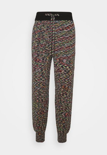 JOGGING BOTTOMS - Trousers - black/mimosa/fire/pale pink/artichoke
