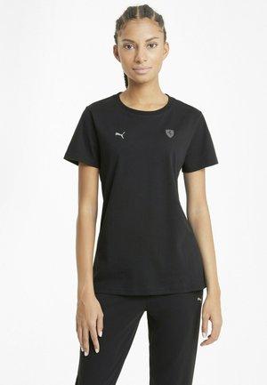 FERRARI STYLE - Basic T-shirt - puma black