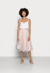 Esprit Collection - SKIRT - A-Linien-Rock - nude - 1