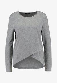 ONLSONJA MIDA WRAP - Long sleeved top - medium grey
