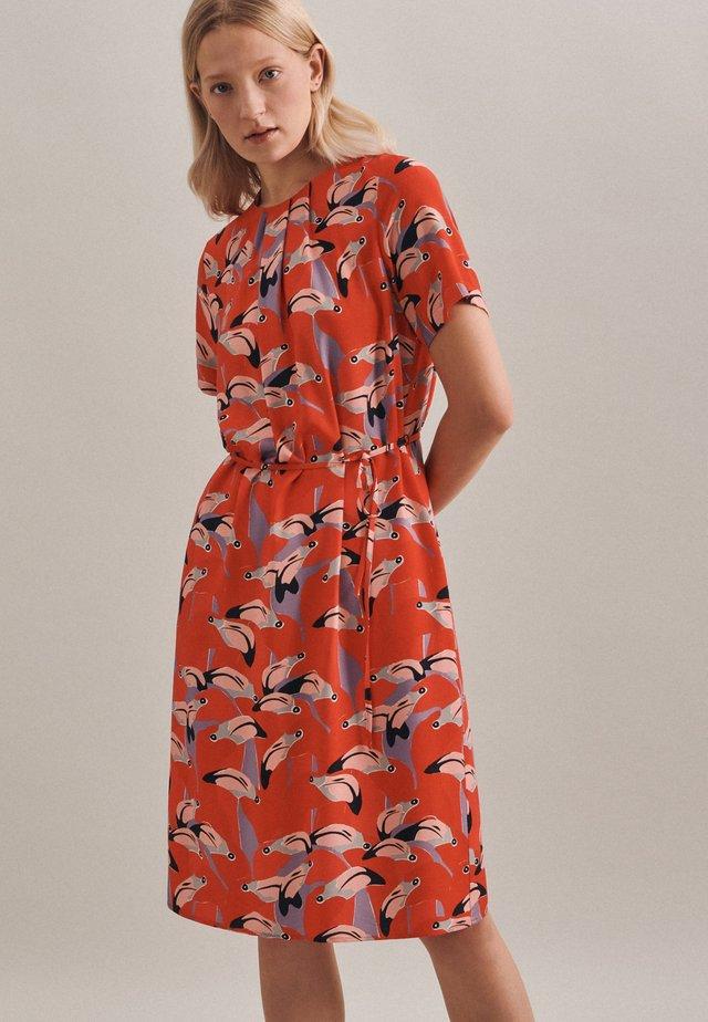 ROSE - Korte jurk - rot