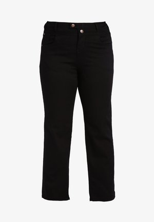 GEMMA - Straight leg jeans - black