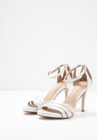 Menbur - High heeled sandals - silver - 4