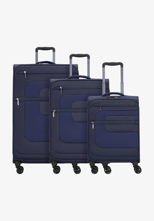 SET - Luggage set - navy