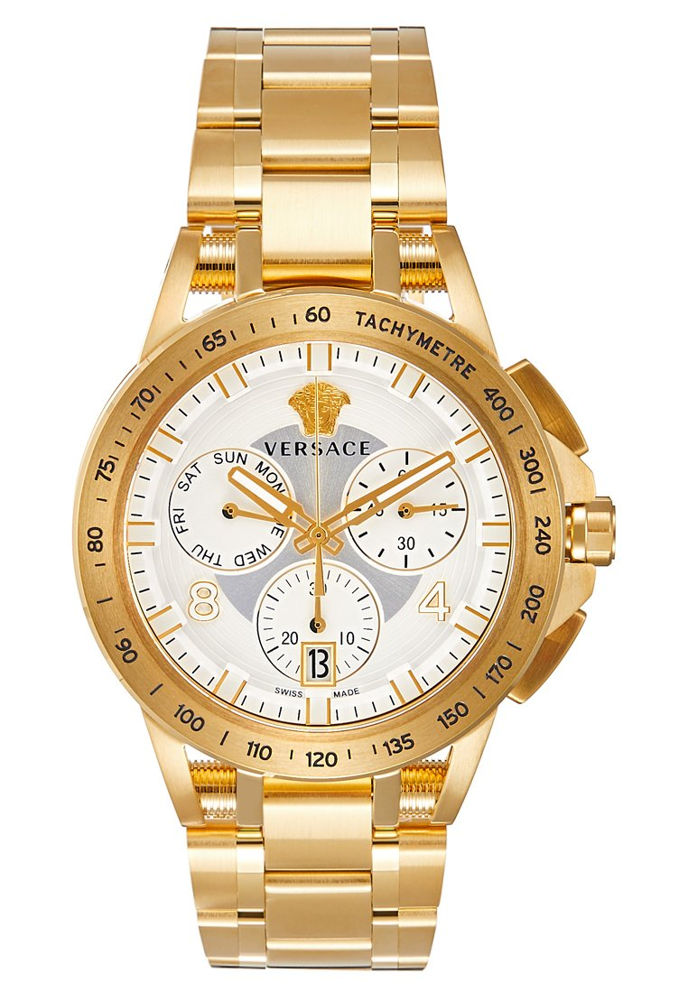 Versace Watches - SPORT TECH - Chronograph watch - all gold-coloured