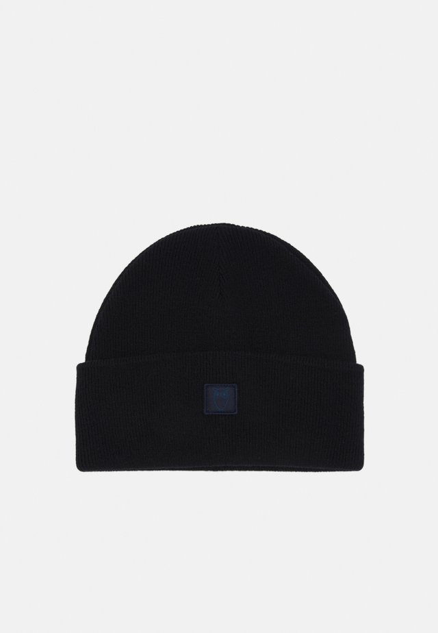 BEANIE UNISEX - Mütze - black/light brown