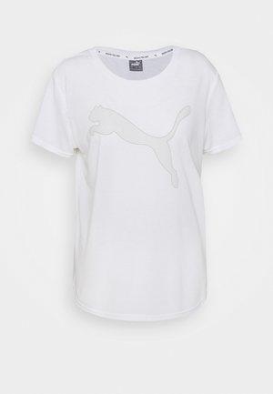 EVOSTRIPE TEE - T-shirt con stampa - puma white