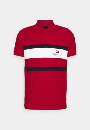 CHEST STRIPE  - Polo - primary red
